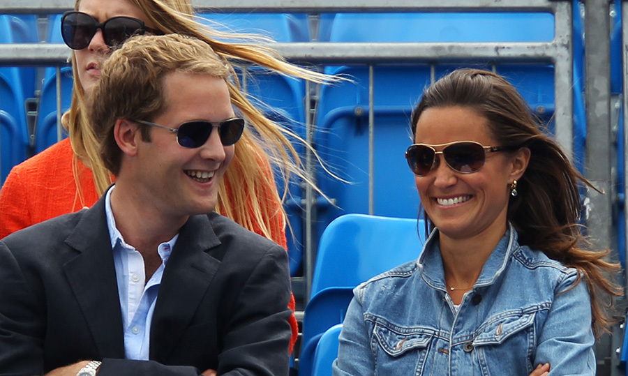 George Percy is the Duke of Northumberland's eldest son. He was Pippa Middleton's roommate at Edinburgh University and they continue to be good friends. The Percy siblings are all very close with the royal family. (Photo © Getty)
