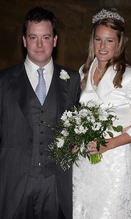 "Lady Catherine ""Katie"" Valentine (née Lady Catherine Percy) is the daughter of the Duke of Northumberland and George Percy's sister. She's a dear friend to William and Kate. Pippa Middleton and Chelsy Davy attended her wedding to banker Patrick Valentine in 2011. (Photo © Getty)"