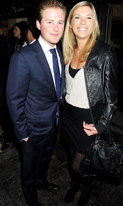 Guy Pelly with Harry's ex-girlfriend, Chelsy Davy. (Photo © Getty)