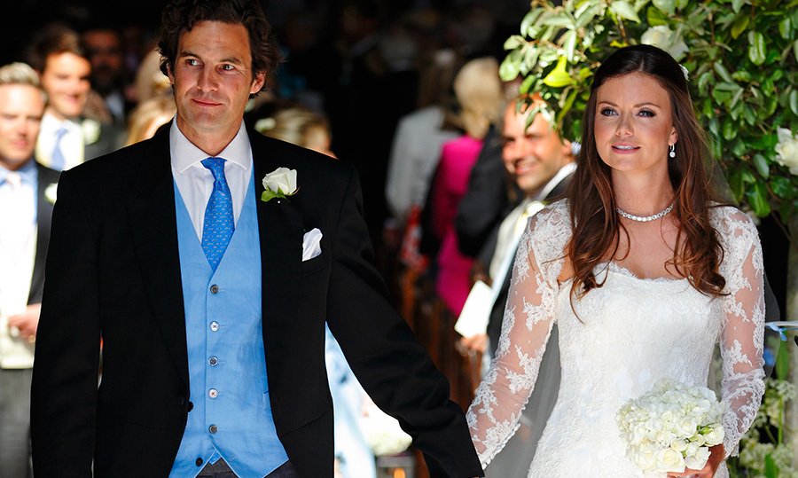Kate's ex-boyfriend Rupert Finch (left), marries Prince William's close friend, Lady Natasha Rufus Isaacs. (Photo © Getty)