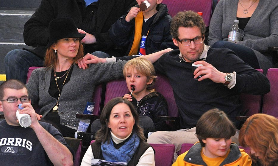 Anne Heche's son, Homer Laffoon, is a true Canucks fan, often dressed head-to-toe in team swag next to his equally riveted mom. The duo were joined by Anne's husband, James Tupper, and Vancouver mascot Fin the Whale – the latter of whom tried to playfully eat the actress. (Image: James Devaney/Getty Images)