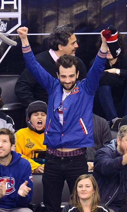 There is no mistaking Jay Baruchel for anything but a devoted Montreal Canadiens fan. The actor sports a Montreal jersey as often as he can, and also catches the games that fit into his schedule. In 2013, the team named the comedian its honourary captain. (Image: Noel Vasquez/Getty Images)