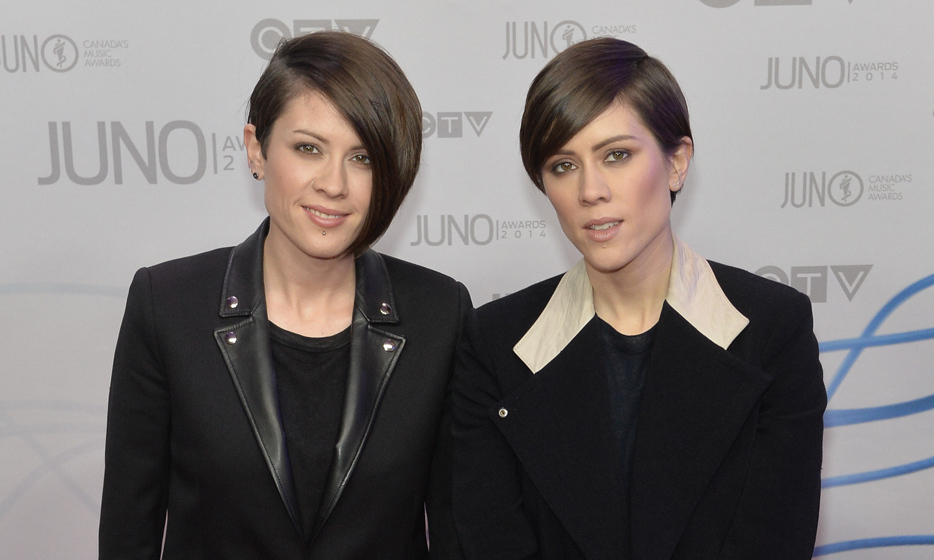 Tegan Rain Quin and Sara Keirsten Quin are the identical-twin crooners behind indie outfit Tegan and Sara. The openly gay sisters were born on September 19, 1980 in Calgary, Alberta. (Image: Getty)