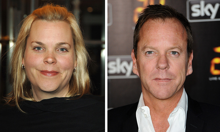 Kiefer and Rachel Sutherland are twins, born on December 21, 1966 in London, England. While Kiefer is known for his starring roles, including the lead in '24,' Rachel works behind the scenes in Hollywood as a television producer. (Images: Getty)