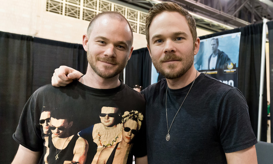 Aaron and Shawn Ashmore are identical twins, born in 1979 in Richmond, British Columbia. The pair have played twins in various films, but Shawn went on to play Iceman in the 'X-Men' movie franchise and Aaron had a recurring role in 'Smallville.' (Image: Getty)