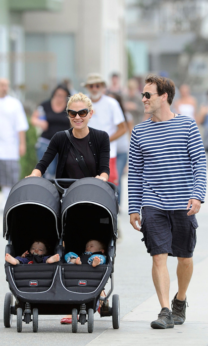 Anna Paquin and Stephen Moyer had fraternal twins, Poppy and Charlie, ten weeks early in September of 2012. Stephen revealed to 'Digital Spy' that Charlie was born prematurely at only 1.5 pounds. (Image: Getty)