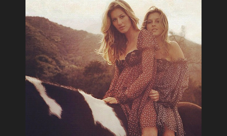 Patricia Bundchen shares her supermodel twin sister Gisele's stunning looks, but she prefers to stay behind the camera. While she has done some modelling, Patricia now serves as the Victoria's Secret angel's manager. (Image: Instagram)