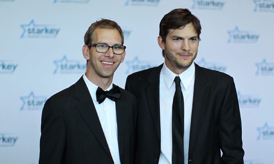 "Ashton and Michael Kutcher have always been attached at the hip. The father-to-be was by his twin brother Michael's side when he was diagnosed with cerebral palsy, and continued to support him at 13, when he had a heart transplant. Michael told 'People,' ""He showed me the love one brother has for another."" (Image: Getty)"