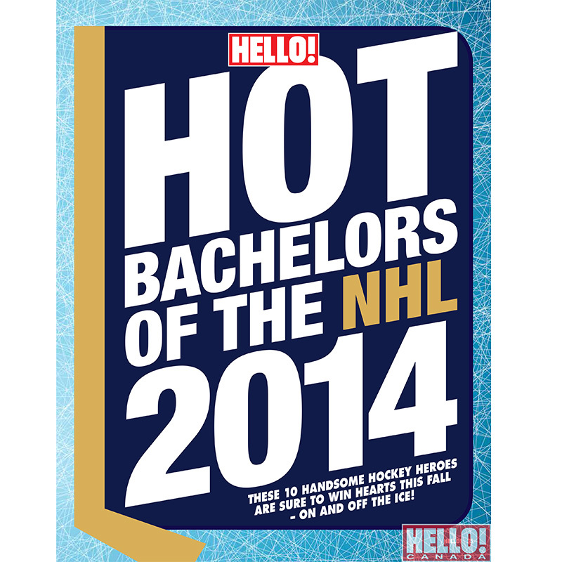 Discover eight more hot hockey bachelors, only in this week's issue of Hello! Canada magazine...