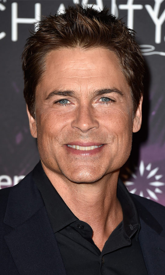 How can you have an '80s-themed party and not have Rob Lowe in attendance? The decade's hottest icon arrived in a streamlined suit, and proved he hasn't lost his boyish good looks. (Image: Getty)
