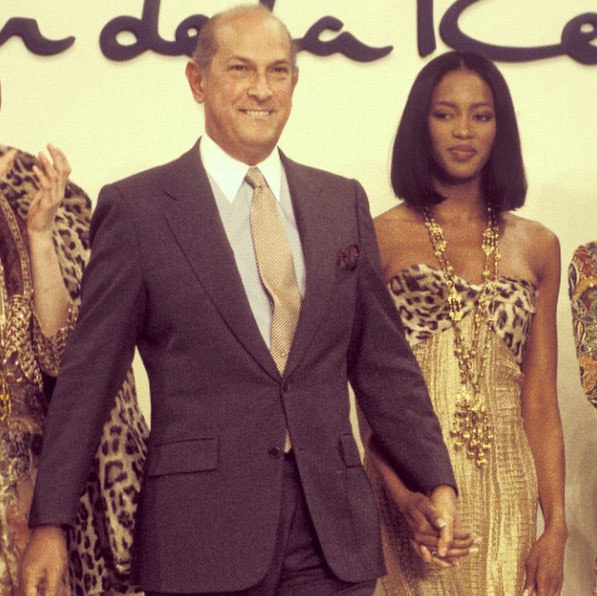 "Naomi Campbell: ""The Gentleman of Fashion you will always be !!! R I P @oscarprgirl @OscarPRGirl #Oscar de la Renta"" Photo: © Instagram"