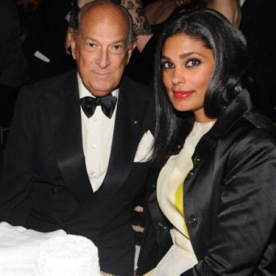 "Rachel Roy: ""Devastated. A true class act, gentleman, legendary genius. #oscardelarenta rest in peace ❤️ ""The qualities I admire in women are confidence and kindness~Oscar de la Renta."" May we all live up to his wise words ✨"" Photo: © Instagram"