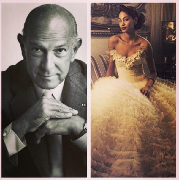 "Rose McGowan: ""Thank you for your artistry, Mr. de la Renta. #oscardelarenta rest in peace "" Photo: © Instagram"