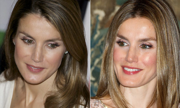A look at Queen Letizia's flawless make-up