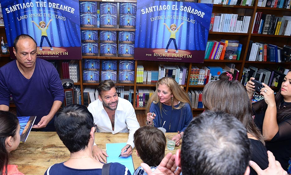 Ricky Martin published 'Santiago the Dreamer in Land Among the Stars' in 2013. The book tells the story of a young boy named Santiago who must learn to believe in himself after losing the lead role in his school's annual play. 