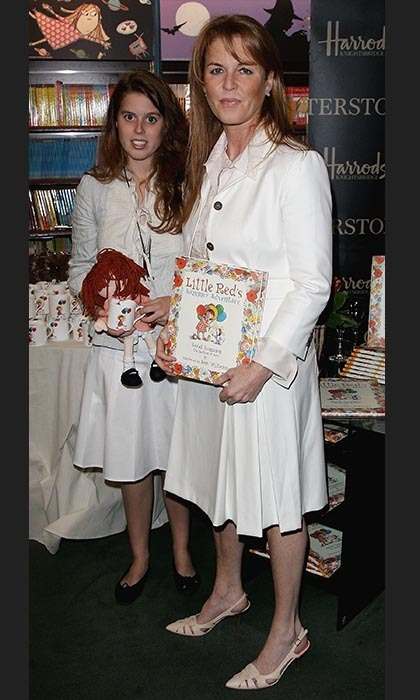 Duchess Sarah Ferguson has written 14 children's books since 1989, beginning with a seven-book series about a character named 'Budgie' that was later made into an animated series. 'Budgie the Little Helicopter' kicked off her writing career, but she also released 'Little Red,' 'Little Red's Christmas Story' and 'Little Red's Summer Adventure' between 2003 and 2006. 