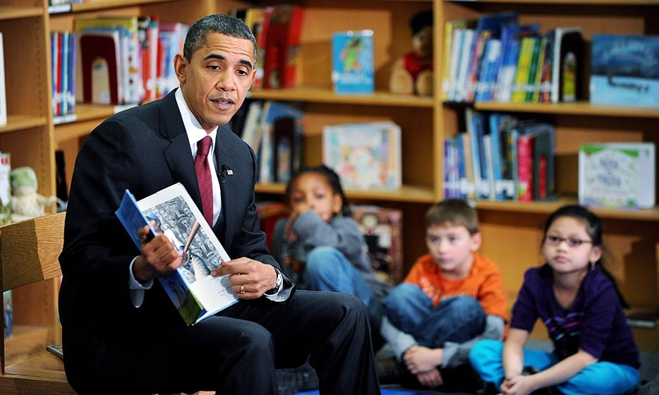 In 2010, President Barack Obama authored his first children's book, 'Of Thee I Sing: A Letter to my Daughters.' The book is an illustrated celebration of American heroes like Martin Luther King Jr., Jackie Robinson and others who have similar qualities to those of his children, Sasha and Malia. 