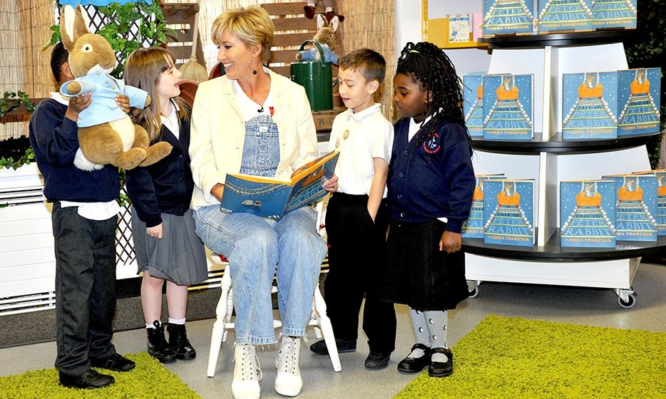 Emma Thompson wrote 'The Further Tale of Peter Rabbit' in 2012 to commemorate the 110th anniversary of Beatrix Potter's series. She has since followed the effort with 'The Christmas Tale of Peter Rabbit' and 'The Spectacular Tale of Peter Rabbit.' 