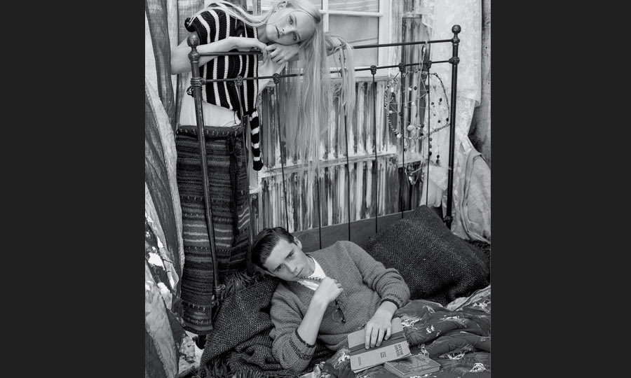 Brooklyn Beckham and Lady Jean Campbell for 'T' magazine (Image: Bruce Weber)