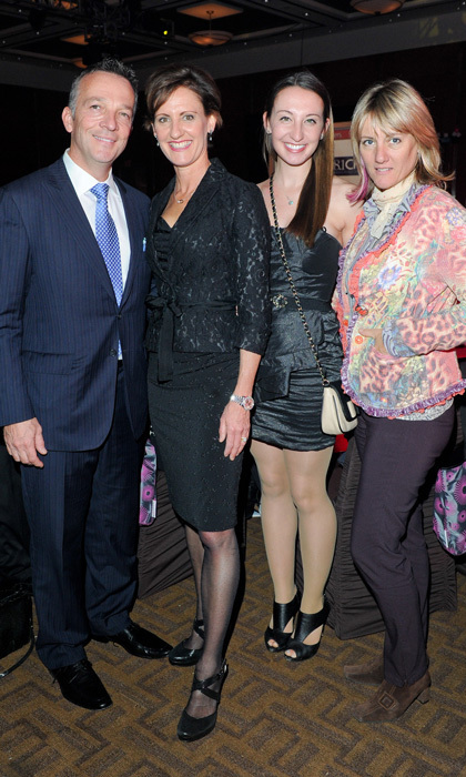 Mark Ginty, Dr. Alexandra Ginty, Olivia Ginty and Pippa DeLeonardis (Photo: Ernesto DiStefano/George Pimentel Photography)