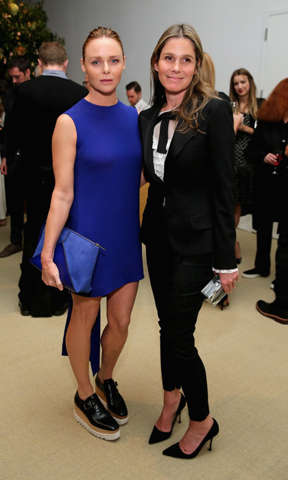 Stella McCartney and Aerin Lauder