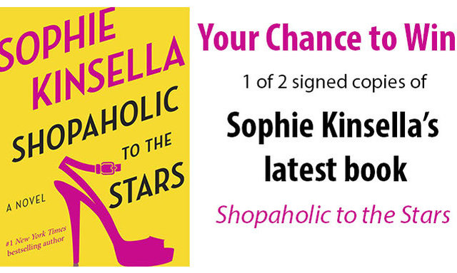 Sophie Kinsella Quote You Can Want And Want And Want But: Enter For A Chance To Win A Signed Copy Of Sophie Kinsella