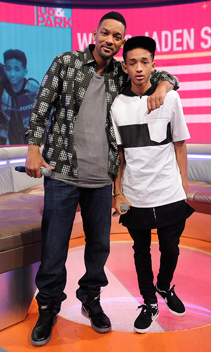 Jaden Smith's first movie role was in the 2006 film 'The Pursuit of Happiness' with his famous father, Will Smith. Since then, he's starred in 'The Karate Kid,' as well as the 2013 film 'After Earth' - also with his famous dad.