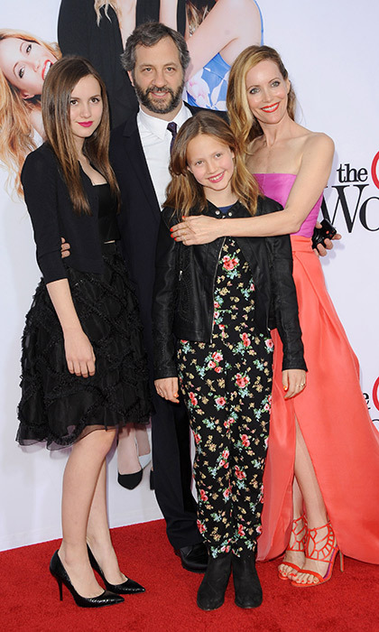 Judd Apatow and Leslie Mann's daughters, Maude and Iris Apatow, are known for playing the daughters to their real-life mother's characters in 'Knocked Up,' 'Funny People' and 'This is 40.'