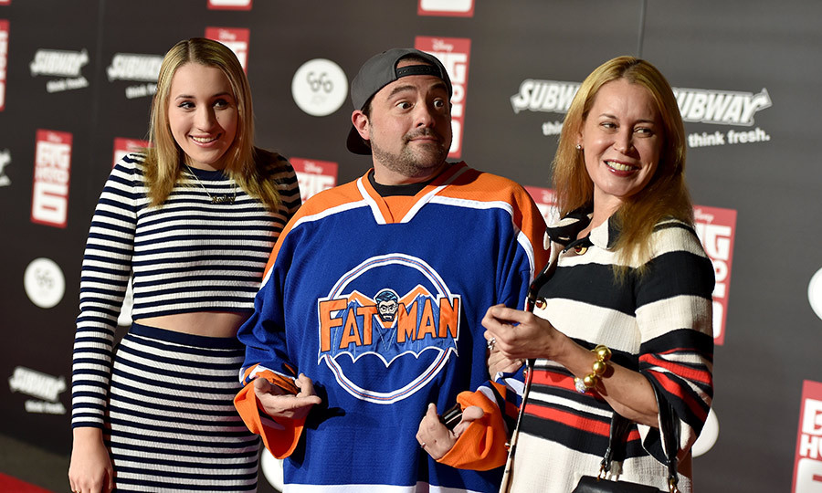 Kevin Smith's daughter, Harley Quinn Smith, has made appearances in several of her father's films, including 'Clerks II' and 'Jay and Silent Bob Strike Back.' The 17 year old is set to star in 'Yoga Hosers' alongside Johnny Depp's daughter, Lily-Rose.