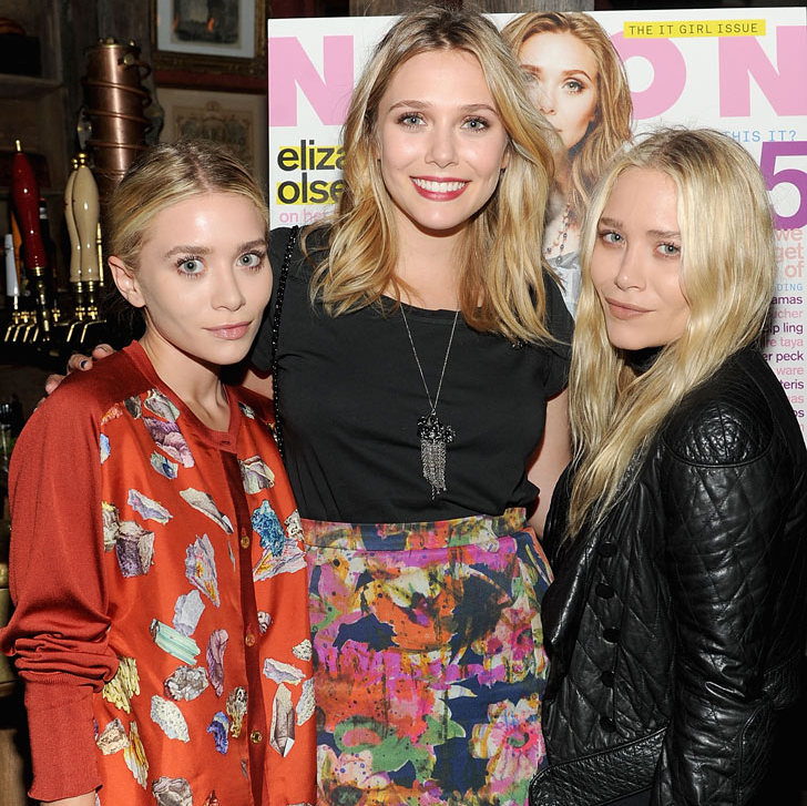 They act, they model and they design – there's nothing much this trio of siblings can't do. Mary-Kate and Ashley, who are 28-year-old twins, got their big break playing Michelle Tanner on Full House and have gone on to build themselves a fashion empire with a host of labels, including The Row. Twenty-five-year-old Elizabeth is a film darling whose star-turning role in Martha Marcy May Marlene won her several awards. (Photo: © Getty Images)