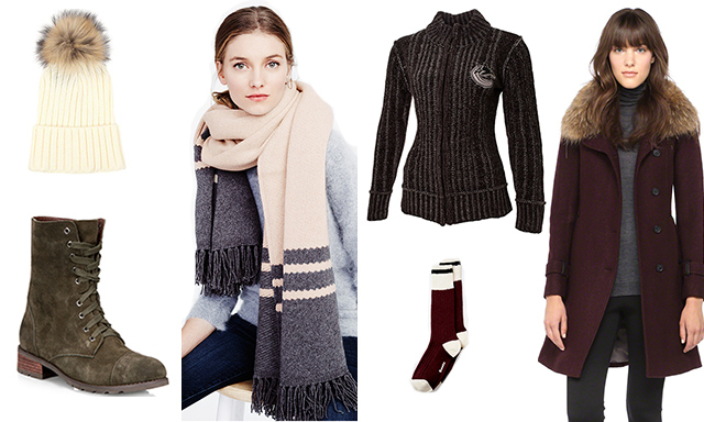 Cute Cozy Clothing To Wear To An NHL Hockey Game