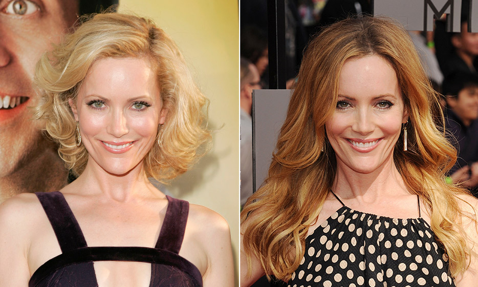 "Judd Apatow's leading lady, Leslie Mann, doesn't think much of her appearance. ""I'm not the sexy bombshell,"" she tells 'Shape' magazine. ""I'm the normal mom."" Nonetheless, the actress says she has one beauty product she can't live without – clay masks! (Photo: © Getty Images)"