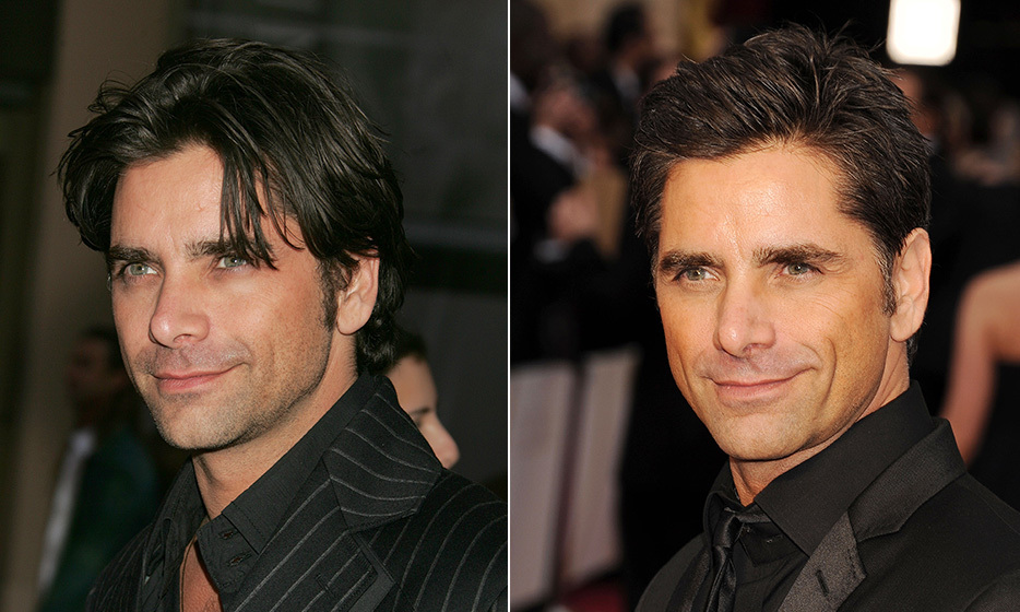 "For many, John Stamos will always be Uncle Jesse from 'Full House' – especially since he still looks the same two decades on! ""It's funny, because I haven't had one ounce of Botox or any of that,"" he told 'The Advocate.' ""I finally got gray hairs in the past couple years, and I wore it on 'ER,' but they made me cover it up in this show. I don't want to be one of those weird-looking guys who gets old but stays looking young."" (Photo: © Getty Images)"