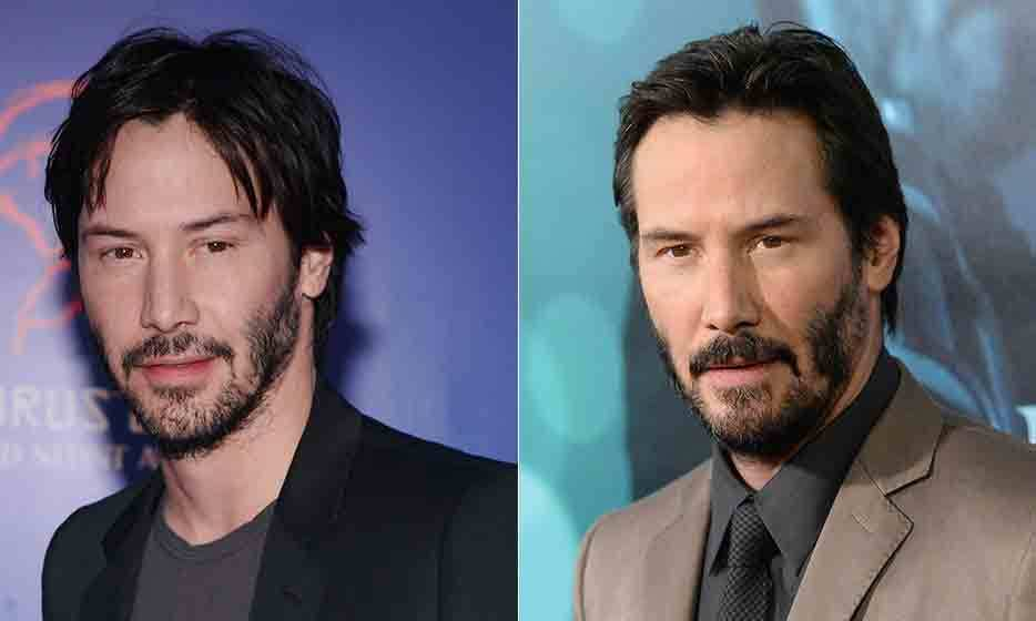 "It must be the fresh, Northern air: Canadian actor Keanu Reeves hasn't aged a day since he starred in 1999's 'Matrix.' So suspect is the 50-year-old actor's apparent inability to grow old, there's even a ""Keanu is Immortal"" meme dedicated to the subject. (Photo: © Getty Images)"