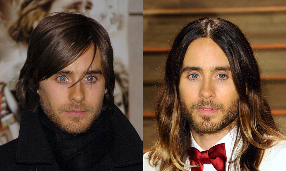 "Perhaps it's the long, flowing locks or the soulful blue peepers, but Jared Leto, 43, defies all aging logic. Like many celebrities on our list, Jared takes good care of himself. He avoids alcohol and makes sure to get plenty of sleep. ""I'm pretty healthy so I think that helps a lot. I've been that way for a long time,"" he told British 'GQ'. ""Twenty solid years of eating vegetarian/vegan and taking care of myself. That probably helps the preservation process."" (Photo: © Getty Images)"