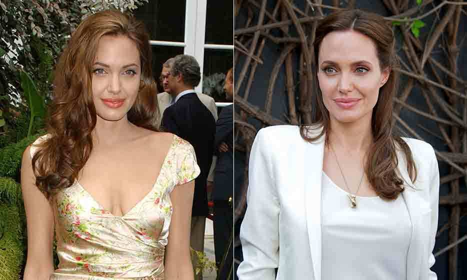 Like the vintage wine she produces on her Provencal estate with her husband, Brad Pitt, Angelina Jolie only seems to get better with age. The film star may have enjoyed a hard-partying lifestyle early on in her career, but these days, the busy mother of six indulges in facials to keep her skin aglow. (Photo: © Getty Images)