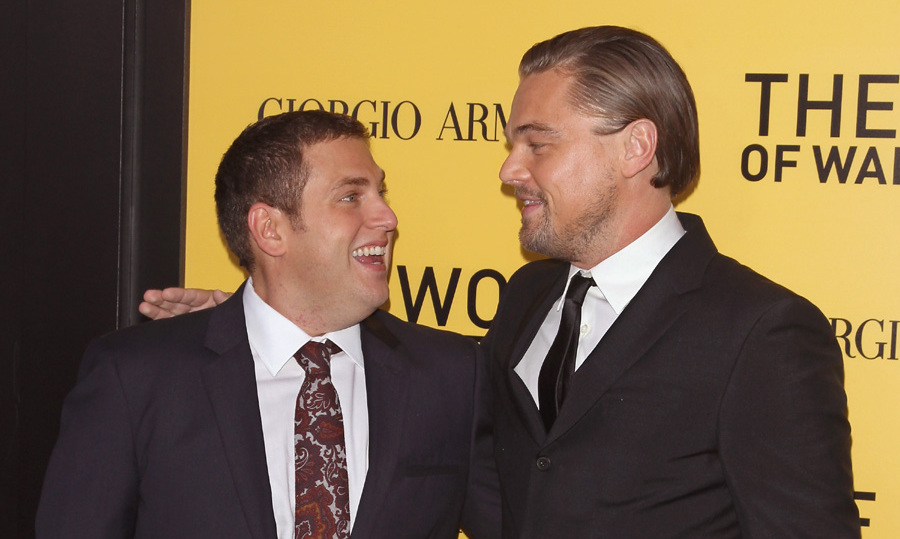 Leonardo DiCaprio celebrated his 40th with friends including Jonah Hill