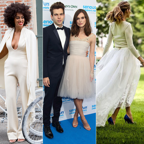Celebrity Wedding Dresses: Non-traditional And Unusual