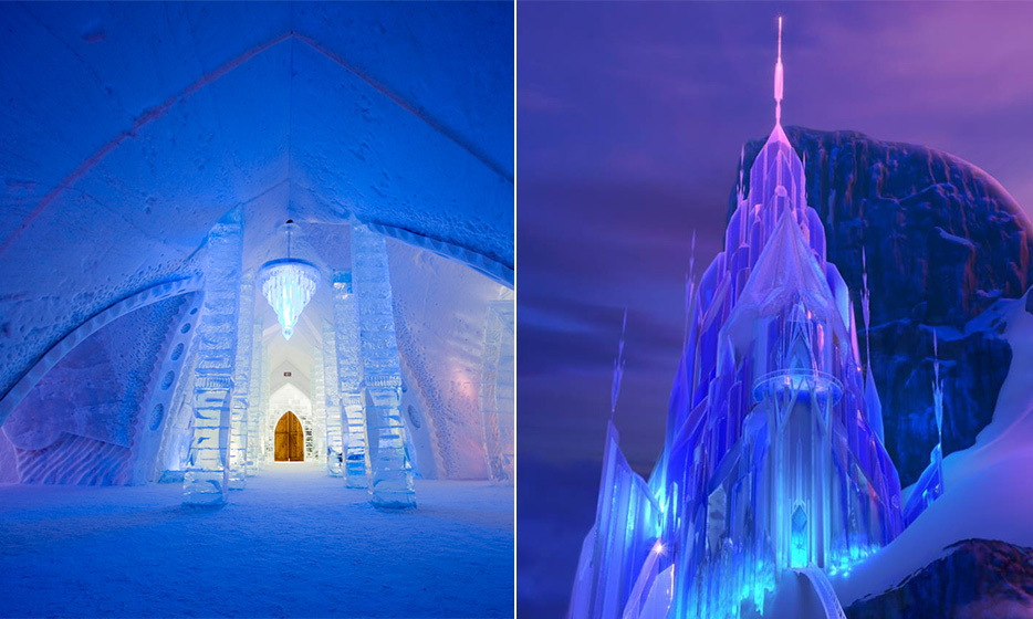 The Real Life Places That Inspired Disney Films Hello Canada