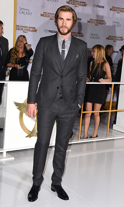 Liam Hemsworth: Be still our beating heart! The 24-year-old Australian, who plays Gale Hawthorne in the flick, has never looked better - and this slim-cut look clearly suits him. (Photo: Getty Images)