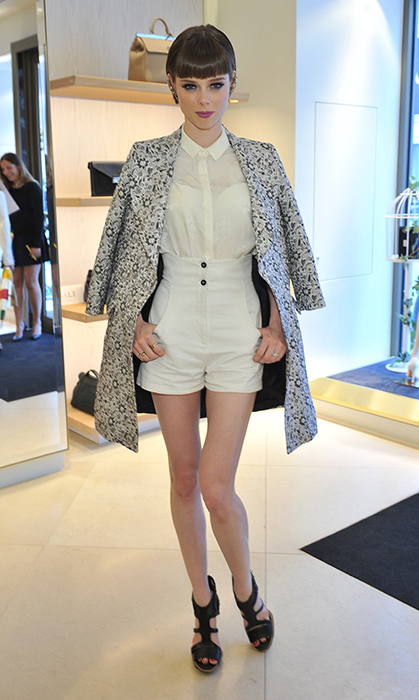 Coco Rocha City New York Day Job Supermodel And Mom To