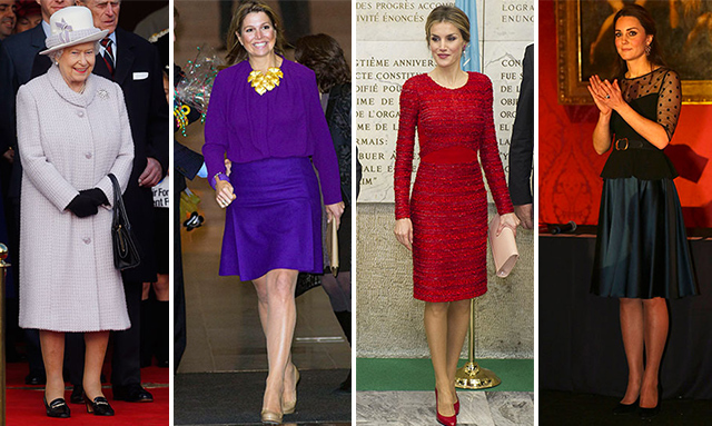 The Duchess of Cambridge, the Queen and Queen Letizia: Gallery of the week's best royal style