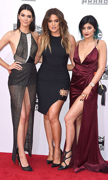 Kendall Jenner, Khloe Kardashian and Kylie Jenner Photo: © Getty Images