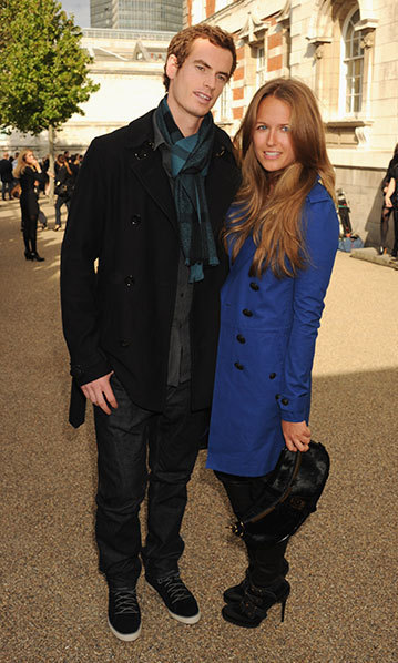 At London Fashion Week with Andy. Photo: © Getty Images