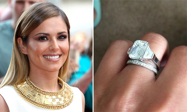 CHERYL COLE: Cheryl Cole took fans by surprise when she simultaneously announced her engagement and wedding to short-term boyfriend Jean-Bernard Fernandez Versini in July. The singer shared a photo of her beautiful, emerald-cut engagement ring on Instagram, which according to diamond experts, is valued at more than $430,000.