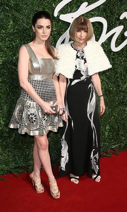 Bee Shafer and Anna Wintour Photo: © Getty Images