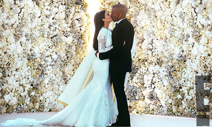 Kim Kardashian & Kanye West
