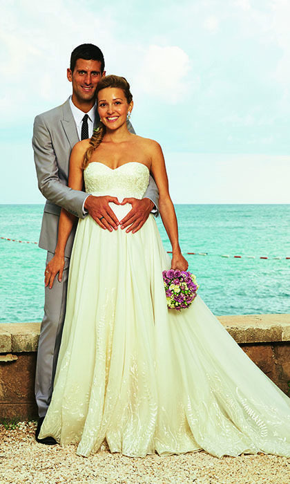 Novak Djokovic & Jelena Ristic