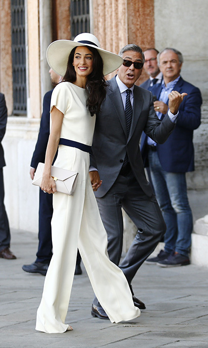 George Clooney & Amal Alamuddin