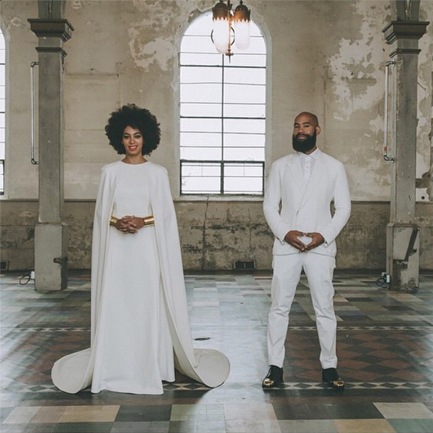 Solange Knowles & Alan Ferguson